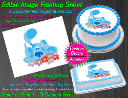Blues Clues Edible Image Icing Frosting Sheet #20 Cake Cupcake Cookie Topper