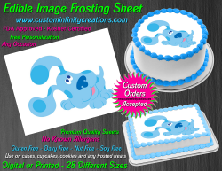 Blues Clues Edible Image Icing Frosting Sheet #21 Cake Cupcake Cookie Topper