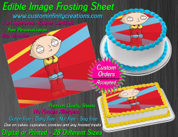 Stewie Family Guy Edible Image Frosting Sheet #21 Cake Cupcake Cookie Topper