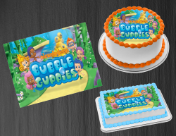 Bubble Guppies Edible Image Icing Frosting Sheet #8 Cake Cupcake Cookie Topper
