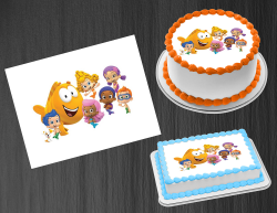 Bubble Guppies Edible Image Icing Frosting Sheet #6 Cake Cupcake Cookie Topper