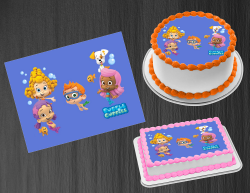Bubble Guppies Edible Image Icing Frosting Sheet #22 Cake Cupcake Cookie Topper