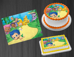 Bubble Guppies Edible Image Icing Frosting Sheet #26 Cake Cupcake Cookie Topper