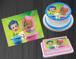 Bubble Guppies Edible Image Icing Frosting Sheet #41 Cake Cupcake Cookie Topper