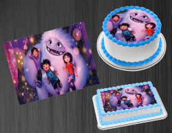 Abominable Edible Image Icing Frosting Sheet #3 Cake Cupcake Cookie Topper
