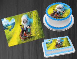 Abominable Edible Image Icing Frosting Sheet #4 Cake Cupcake Cookie Topper