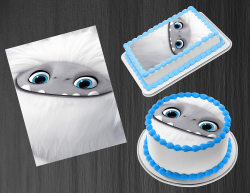 Abominable Edible Image Icing Frosting Sheet #6 Cake Cupcake Cookie Topper