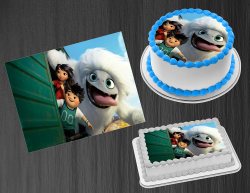 Abominable Edible Image Icing Frosting Sheet #10 Cake Cupcake Cookie Topper