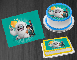 Abominable Edible Image Icing Frosting Sheet #12 Cake Cupcake Cookie Topper