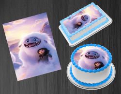 Abominable Edible Image Icing Frosting Sheet #13 Cake Cupcake Cookie Topper