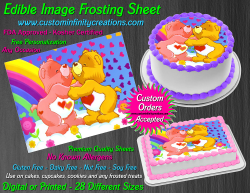 Care Bears Edible Image Icing Frosting Sheet #7 Cake Cupcake Cookie Topper