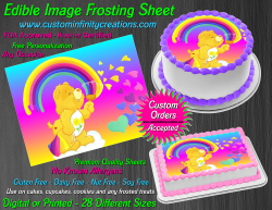 Care Bears Friend Bear Edible Image Frosting Sheet #33 Cake Cupcake Topper
