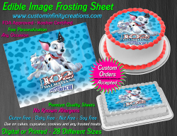 Dalmatians Edible Image Icing Frosting Sheet #5 Cake Cupcake Cookie Topper