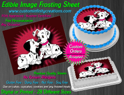 Dalmatians Edible Image Icing Frosting Sheet #10 Cake Cupcake Cookie Topper