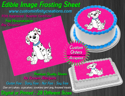 Dalmatians Edible Image Icing Frosting Sheet #27 Cake Cupcake Cookie Topper