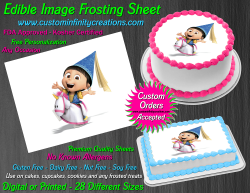 Despicable Me Agnes Edible Image Frosting Sheet #79 Cake Cupcake Cookie Topper
