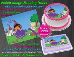 Dora the Explorer Edible Image Frosting Sheet #4 Cake Cupcake Cookie Topper
