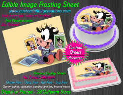 Disney Baby Edible Image Icing Frosting Sheet #4 Cake Cupcake Cookie Topper