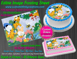 Disney Baby Edible Image Icing Frosting Sheet #5 Cake Cupcake Cookie Topper