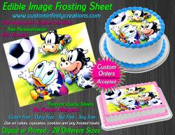Disney Baby Edible Image Icing Frosting Sheet #14 Cake Cupcake Cookie Topper