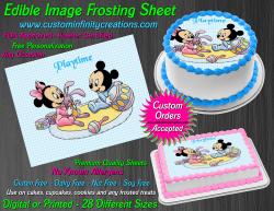 Disney Baby Edible Image Icing Frosting Sheet #27 Cake Cupcake Cookie Topper