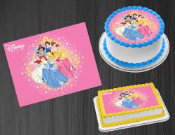 Disney Princess Edible Image Icing Frosting Sheet #12 Cake Cupcake Cookie Topper