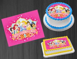 Disney Princess Edible Image Icing Frosting Sheet #22 Cake Cupcake Cookie Topper