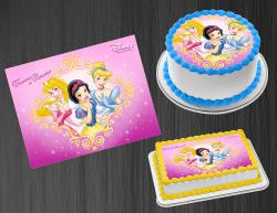 Disney Princess Edible Image Icing Frosting Sheet #26 Cake Cupcake Cookie Topper