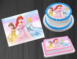 Disney Princess Edible Image Icing Frosting Sheet #39 Cake Cupcake Cookie Topper