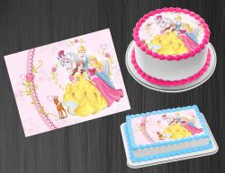 Disney Princess Edible Image Icing Frosting Sheet #41 Cake Cupcake Cookie Topper