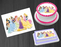 Disney Princess Edible Image Icing Frosting Sheet #55 Cake Cupcake Cookie Topper