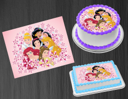 Disney Princess Edible Image Icing Frosting Sheet #69 Cake Cupcake Cookie Topper