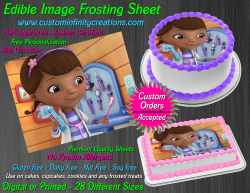 Doc McStuffins Edible Image Icing Frosting Sheet #6 Cake Cupcake Cookie Topper