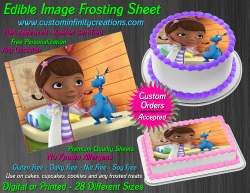 Doc McStuffins Edible Image Icing Frosting Sheet #7 Cake Cupcake Cookie Topper