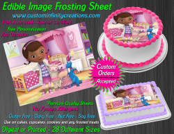 Doc McStuffins Edible Image Icing Frosting Sheet #20 Cake Cupcake Cookie Topper