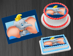 Dumbo Edible Image Icing Frosting Sheet #8 Cake Cupcake Cookie Topper