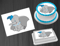 Dumbo Edible Image Icing Frosting Sheet #18 Cake Cupcake Cookie Topper
