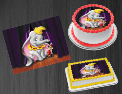 Dumbo Edible Image Icing Frosting Sheet #21 Cake Cupcake Cookie Topper