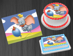 Dumbo Edible Image Icing Frosting Sheet #23 Cake Cupcake Cookie Topper
