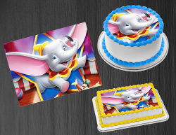 Dumbo Edible Image Icing Frosting Sheet #24 Cake Cupcake Cookie Topper