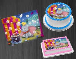 Dumbo Edible Image Icing Frosting Sheet #26 Cake Cupcake Cookie Topper