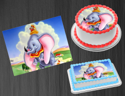 Dumbo Edible Image Icing Frosting Sheet #28 Cake Cupcake Cookie Topper