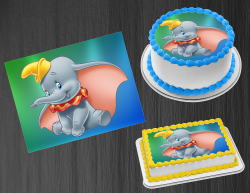 Dumbo Edible Image Icing Frosting Sheet #30 Cake Cupcake Cookie Topper