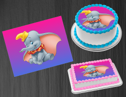 Dumbo Edible Image Icing Frosting Sheet #31 Cake Cupcake Cookie Topper