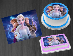 Frozen 2 Edible Image Icing Frosting Sheet #7 Cake Cupcake Cookie Topper