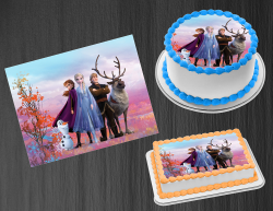 Frozen 2 Edible Image Icing Frosting Sheet #9 Cake Cupcake Cookie Topper