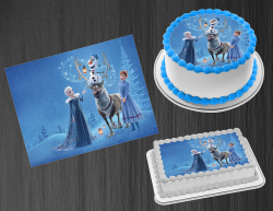 Frozen 2 Edible Image Icing Frosting Sheet #11 Cake Cupcake Cookie Topper