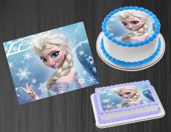 Frozen 2 Elsa Edible Image Icing Frosting Sheet #15 Cake Cupcake Cookie Topper