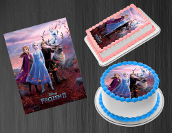 Frozen 2 Edible Image Icing Frosting Sheet #16 Cake Cupcake Cookie Topper