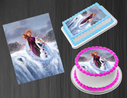 Frozen 2 Anna Edible Image Icing Frosting Sheet #17 Cake Cupcake Cookie Topper